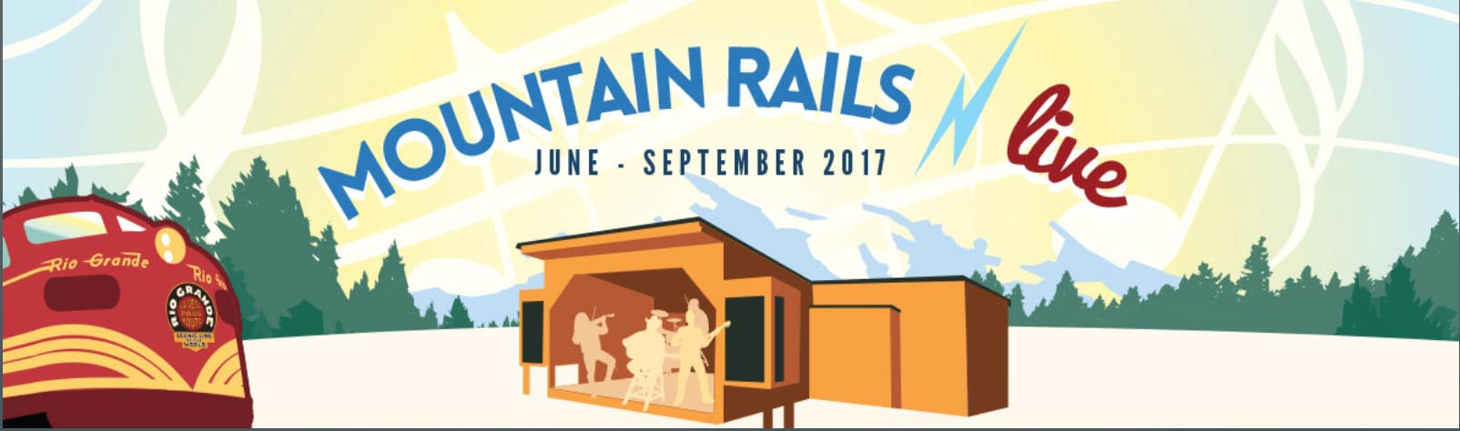 Mountain rails banner