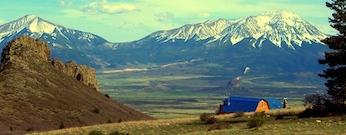 Pats photo of both peaks and barn